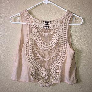 EUC Forever 21 womens crop top S